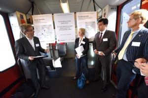 """Medienorientierung """"Die starke Wirtschaftsregion Basel braucht eine leistungsfähige S-Bahn"""" Foto Juri Junkov Haagener Str. 35a D-79599 Wittlingen Tel:. +49 7621 140962 Mobil: +49 171 7410128 www.junkov.com"""